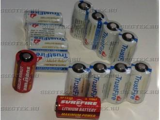 Батарейки CR123A (4)