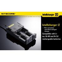 Интеллектуальное ЗУ Nitecore Intellicharge i2 + адаптер на авто