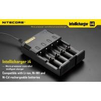 Интеллектуальное зарядное устройство Nitecore Intellicharge i4