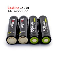 Аккумулятор Soshine Li-ion 14500 Battery Protected 800mAh 3.7V