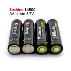 Аккумулятор Soshine Li-ion 14500 Battery Protected 800mAh 3.7V