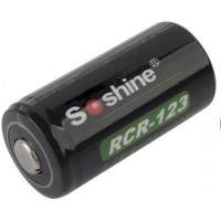 Аккумулятор Soshine Li-ion RCR123 Battery Protected 700mAh 3.7V