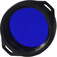 Синий светофильтр Armytek AF-39 для: Olight M21/M22, Armytek Predator/Viking