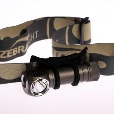 Налобный фонарь Zebralight H52FW (теплый рассеянный  свет)