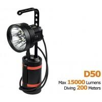 Подводный фонарь Acebeam D50