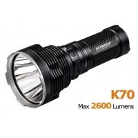 Дальнобойный поисковый фонарь Acebeam K70