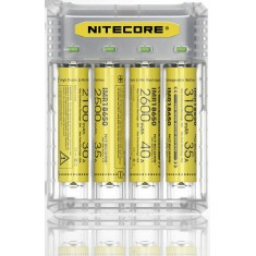 Автоматическое зарядное устройство Nitecore Q4 + адаптер на авто