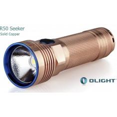 Поисковый фонарь Olight R50 Seeker Solid Cupper