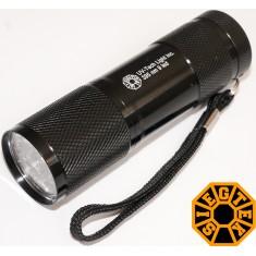 Ультрафиолетовый фонарь 9 светодиодов