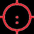 A65/1-2 (65 МОА диаметр круга, 1 МОА диаметр 2х точки внитри)